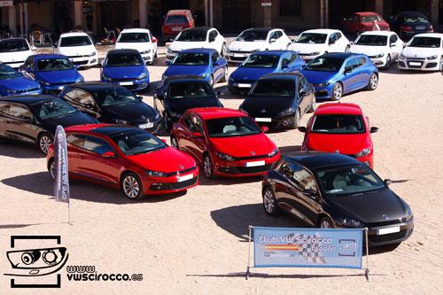 Primera concentración oficial del Club VW Scirocco España (panoramica 1)