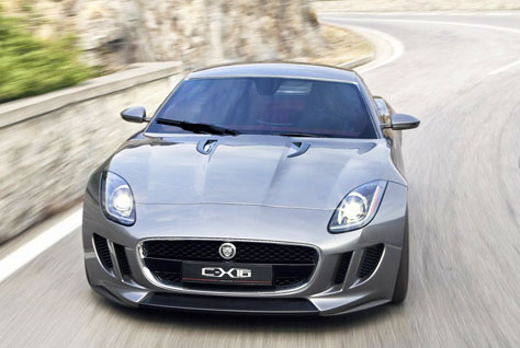 Jaguar C-X16 (frontal)