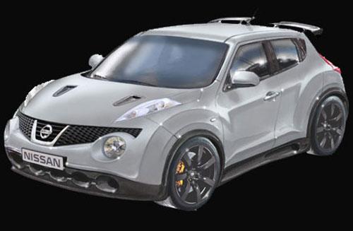 Nissan Juke-R (frontal)