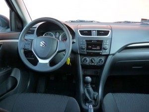 Suzuki Swift (interior)