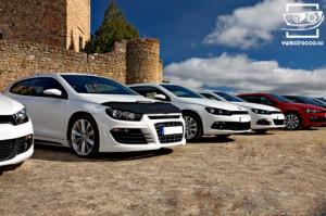 Primera concentración oficial del Club VW Scirocco España (panoramica 2)