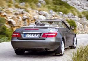 Mercedes Benz Clase E 350 CDI Cabrio (trasera)