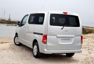 Nissan Evalia (trasera)