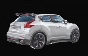 Nissan Juke-R (trasera)