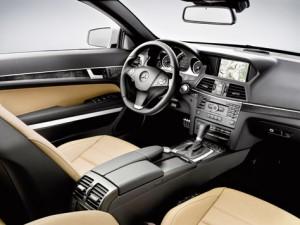 Mercedes Benz Clase E 350 CDI Cabrio (interior)