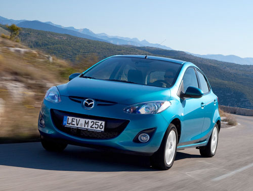 Mazda 2 1.6 CRTD Style+ (frontal)