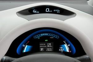 Nissan Leaf (instrumentación)