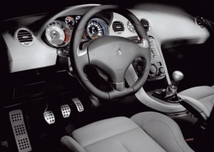 Peugeot RCZ HDi 2.0 FAP (interior)
