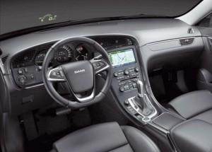Saab 9-5 2.0 TTiD Aero (interior)
