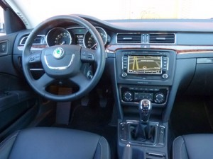 Skoda Superb (interior)