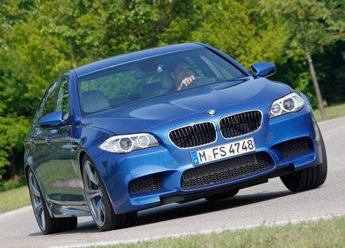 BMW M5 (tres cuartos lateral)
