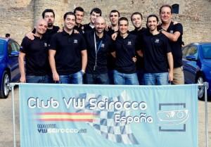 Primera concentración oficial del Club VW Scirocco España (grupo)