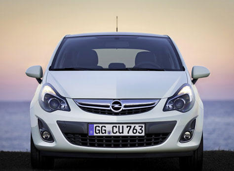 Opel Corsa 1.3 CDTi Ecoflex C'Mon (vista frontal)
