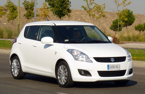 Suzuki Swift (delantera)