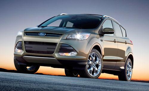 Ford Kuga (nuevo) (frontal)