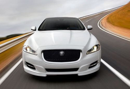 Jaguar XJ (Sport y Speed) (frontal)