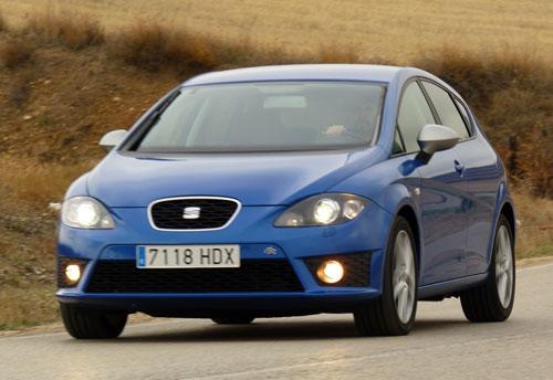 Seat León 2.0 TDI FR (frontal)