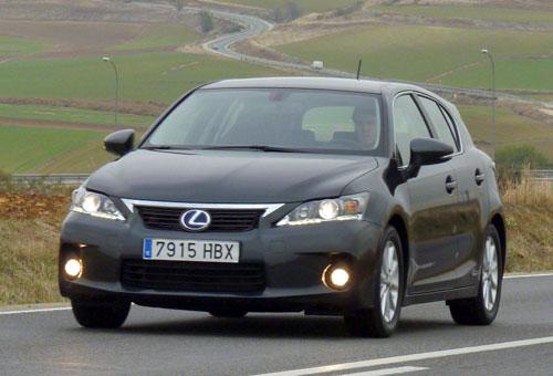 Lexus CT 200h Hybrid Drive (frontal)