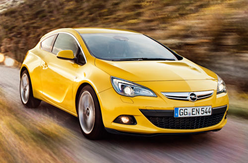 Opel Astra GTC (frontal)