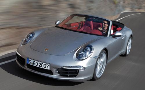 Porsche 911 Carrera Cabriolet (frontal)