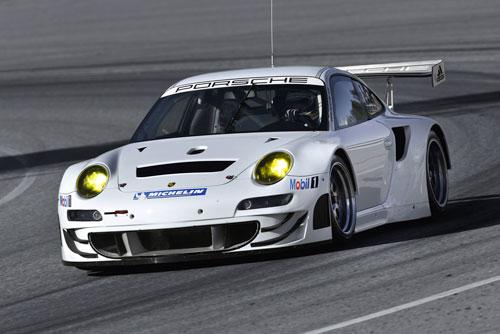 Porsche 911 GT3 RSR (frontal)