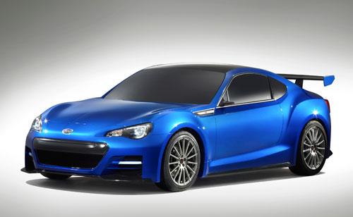 Subaru BRZ Concept STI (frontal)