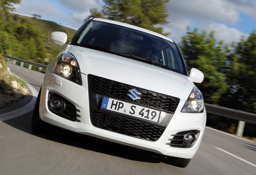 Suzuki Swift Sport (frontal)