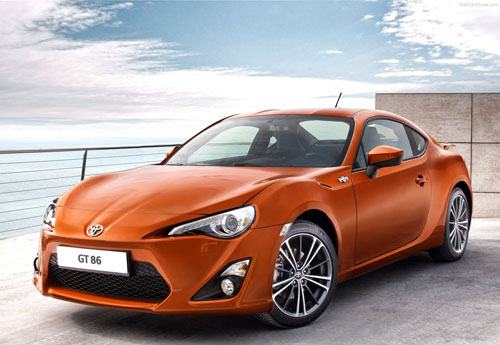 Toyota GT 86 (frontal)
