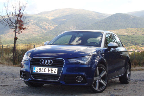 Audi A1 1.6 TDI Ambition (frontal)