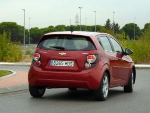Chevrolet Aveo 1.6 LTZ (trasera)
