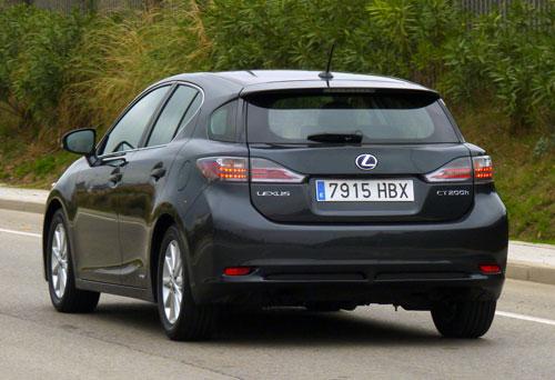 Lexus CT 200h Hybrid Drive (trasera)