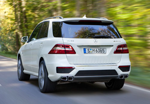 Mercedes-Benz ML 63 AMG (trasera)