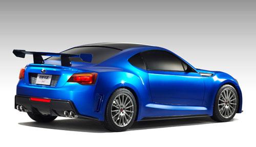 Subaru BRZ Concept STI (trasera)