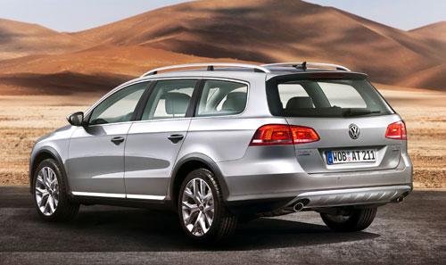 Volkswagen Passat Alltrack (trasera)