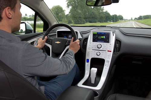 Chevrolet Volt (interior)