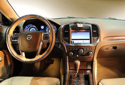 Lancia Thema (interior)