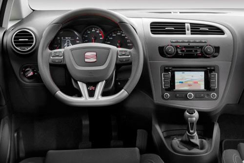 Seat León 2.0 TDI FR (interior)