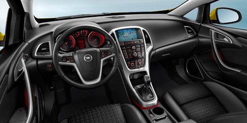 Opel Astra GTC (interior)