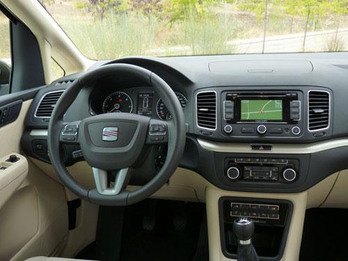 Seat Alhambra 4 2.0 TDI CR 140 CV (interior)