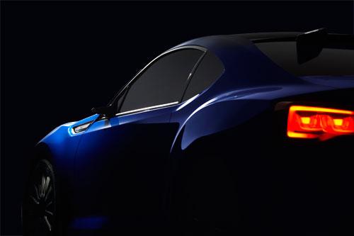 Subaru BRZ Concept STI (detalle)