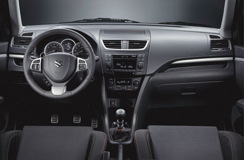 Suzuki Swift Sport (interior)