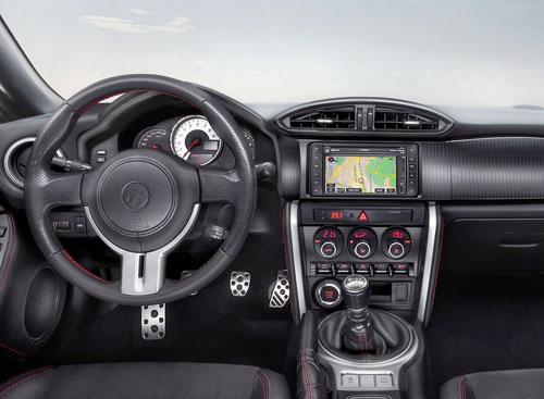 Toyota GT 86 (interior)