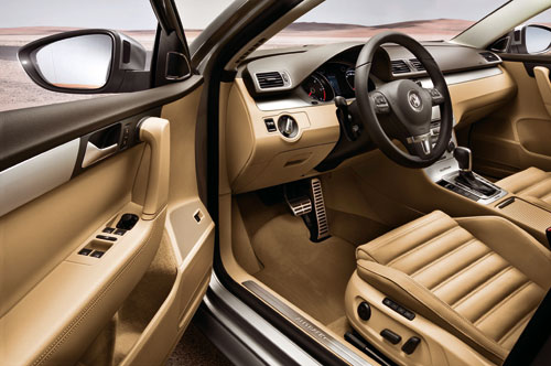 Volkswagen Passat Alltrack (interior)