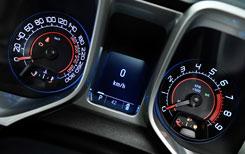 Chevrolet Camaro Coupé y Convertible (detalle cuadro)