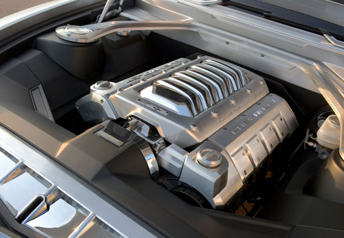 Chevrolet Camaro Coupé y Convertible (motor)
