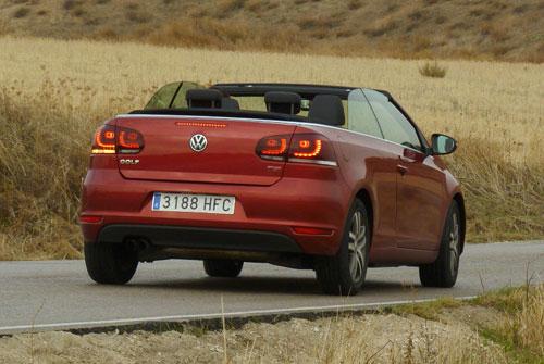 Volkswagen Golf Cabrio 1.4 TSI (trasera)