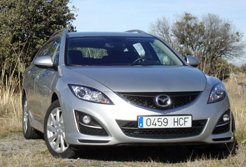 Mazda 6 Wagon 2.2 CRTD Style (frontal)
