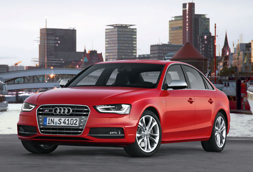 Audi S4 (frontal)