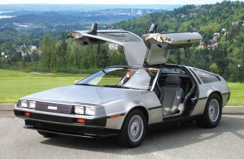 El DeLorean será un coche eléctrico en 2013