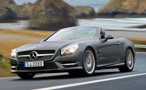 Mercedes-Benz SL (frontal)